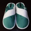 man plush indoor slipper