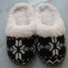 cashmere indoor slipper